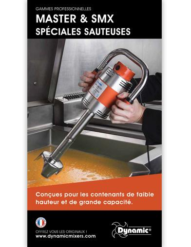 Flyer gamme Sauteuses MASTER et SMX